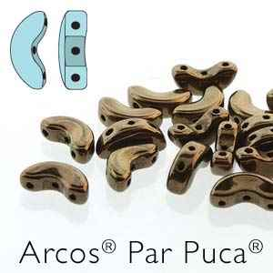 Arcos par Puca : ARC510-23980-14485 - Dark Gold Bronze - 25 Beads