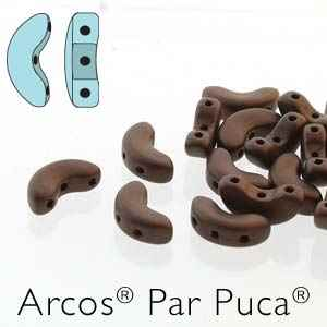 Arcos par Puca : ARC510-23980-84415 - Metallic Matte Bronze - 25 Beads