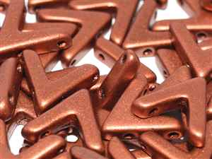AVA-01750 - Ava Bead 10 x 4 mm Copper - 10 Count