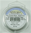 Artistic Wire Silver Non Tarnish 22ga Wire - 10 Yard Spool