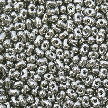 Miyuki Berry Seed Beads BB-190 M Nickel Plated - 8 Grams