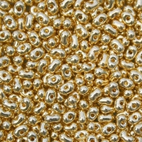 Miyuki Berry Seed Beads BB-191 M 24kt Gold Plated - 8 Grams