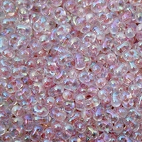 Miyuki Berry Seed Beads BB-285 ICL R Crystal/Light Pink - 8 Grams