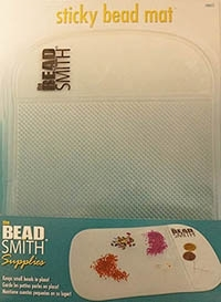 BeadSmith Clear Sticky Bead Mat
