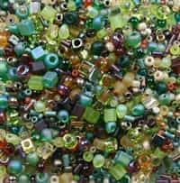 BeadSmith 22 grams Bead Soup ~ Earth Tones