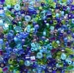 BeadSmith 22 grams Bead Soup ~ Gem Tones