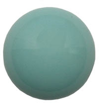Czech 18mm Cabochon - CAB-R18-63120 Green Turquoise - 1 Cabochon