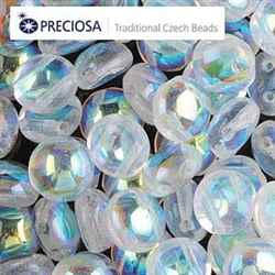 CND0800030-28701 - PRECIOSA Candy 8mm Beads - Crystal AB - 20 pcs