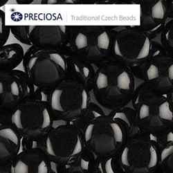 CND0823980 - PRECIOSA Candy 8mm Beads - Black - 20 pcs