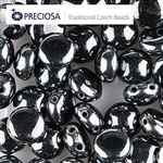 CND0823980-14400 - PRECIOSA Candy 8mm Beads - Gunmetal - 20 pcs