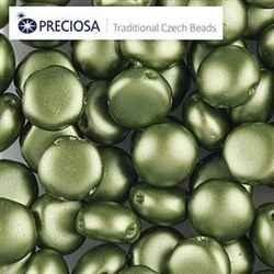 CND0825034 - PRECIOSA Candy 8mm Beads - Pastel Olive - 20 pcs