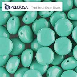 CND0863130 - PRECIOSA Candy 8mm Beads - Turquoise Green - 20 pcs