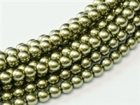 Pearl Coat Round 2mm : CP2-10272 - Pearl - Light Green - 25 pcs
