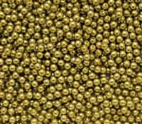 Pearl Coat Round 3mm : CP3-10079 - Pearl - Old Green Gold - 50 pcs