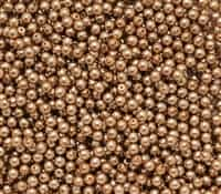 Pearl Coat Round 3mm : CP3-10127 - Pearl - Sand - 50 pcs