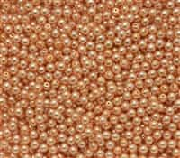 Pearl Coat Round 3mm : CP3-10140 - Pearl - Navajo White - 50 pcs