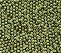 Pearl Coat Round 3mm : CP3-10272 - Pearl - Light Green - 50 pcs