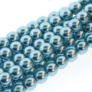 Pearl Coat Round 3mm : CP3-70437- Pearl - Cerulean - 50 pcs