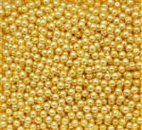 Pearl Coat Round 4mm : CP4-10137 - Sunglow - 50 pieces