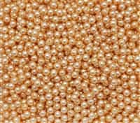 Pearl Coat Round 4mm : CP4-10140 - Navajo White - 50 pieces