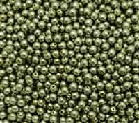 Pearl Coat Round 4mm : CP4-10272 - Light Green - 50 pieces