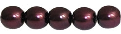 Pearl Coat Round 4mm : CP4-61358 - Pearl - Plum