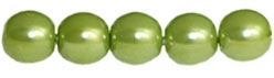 Pearl Coat Round 4mm : CP4-61539 - Pearl - Olive - 50 pcs