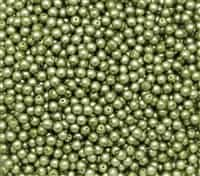Pearl Coat Round 4mm : CP4-75457 - Spring Bud Satin - 50 pieces