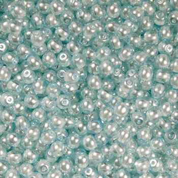 Pearl Lights Round 4mm : CPL4-68403 - Baby Blue - 50 pieces