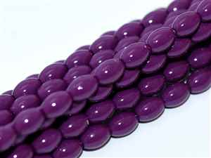 Pearl Coat Rice 6mm x 4mm : CRP6-48279 - Eggplant - 25 Pearls