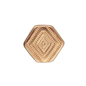 CYM-CHV-013048-RG - Malliadiko Bead Connector - Rose Gold Plate - 1 Piece
