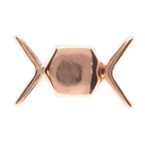 CYM-CHV-013092-RG - Vorino Magnetic Clasp - Rose Gold Plate - 1 Clasp
