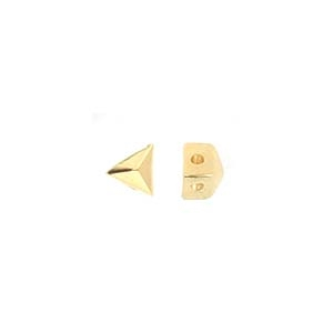 CYM-GD-012841-GP - Embourios - GemDuo Side Bead - 24kt Gold Plated  - 1 Piece
