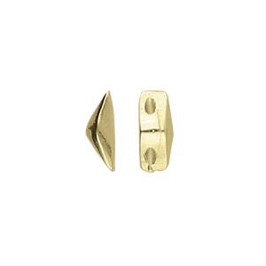 CYM-GD-012842-AB - Kanava - GemDuo Side Bead - Antique Brass Plate - 1 Piece