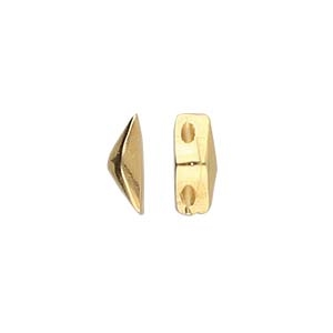 CYM-GD-012842-GP - Kanava - GemDuo Side Bead - 24K Gold Plate - 1 Piece