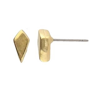 CYM-KT-013076-GP - Latinaki - Kite Earring - 24K Gold Plate - 1 Piece