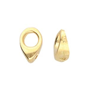 CYM-SD-012357-GP - Kolympos - SuperDuo Bead Ending - 24kt Gold Plated - 1 Piece