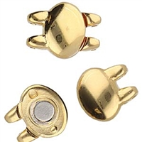 CYM-SD-012499-GP - Kypri - SuperDuo Magnetic Clasp - 24kt Gold Plated -  1 Piece