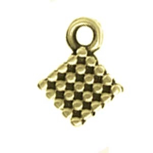 CYM-SQ-012205-AB - Fero Silky Bead Ending - Antique Brass Plated - 1 Piece