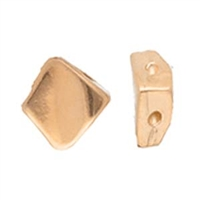 CYM-SQ-012231-RG - Kaloni Silky Side Bead - Rose Gold Plated - 1 Piece