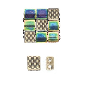CYM-TL-012330-AB - Parasporos - Tila Bead Substitute - Antique Brass Plated - 1 Piece