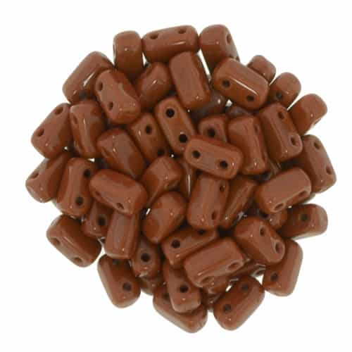 CzechMates Bricks 3x6mm - CZB-13610 - Umber