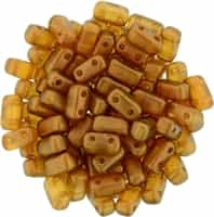 CzechMates Bricks 3x6mm - CZB-29253 - Halo - Sandalwood - 25 Pieces