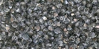 Machine Cut 4mm Bicone Crystals : CZBC4-HL0003 - Hematite Luster - Crystal - 25 count