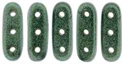 CZBEAM-79051 - CzechMates Beam 3/10mm : Metallic Suede - Light Green - 25 Count