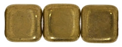 Czech Cubes - 4mm - CZC4-90215 - Bronze - 25 Count