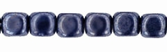 Czech Cubes - 4mm - CZC4-L33400 - Luster - Opaque Navy - 25 Count