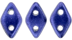 "CZDIA-05A06 - CzechMates Diamond 4x6mm Tube 2.5"" : ColorTrends: Saturated Metallic Ultra Violet - Approx 8 Grams"