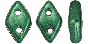 "CZDIA-06B05 - CzechMates Diamond 4x6mm Tube 2.5"" : ColorTrends: Saturated Metallic Martini Olive - Approx 8 Grams"