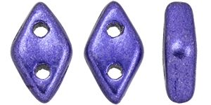 "CZDIA-06B07 - CzechMates Diamond 4x6mm Tube 2.5"" : ColorTrends: Saturated Metallic Ultra Violet - Approx 8 Grams"